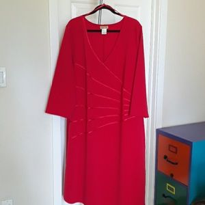 Women's Red Party Dress